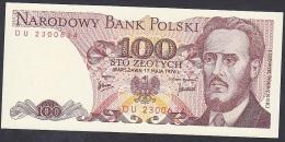 Poland, 100 Zlotych,  P.143b (1976) UNC - Poland