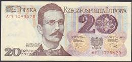 Poland, 20 Zlotych, P.149 (1982) UNC - Poland