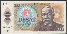 Czechoslovakia, 10 Korun, P.94 (1986) VF - Czechoslovakia