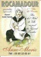 Mini-carte Publicitaire Rocamadour, Paysanne; Oie - Other
