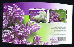 2007  Lilacs    Sc 2206      Sheet Of  2 Different ** - Neufs