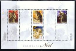 2009  Christmas Nativity Scenes       Sc 2343     Sheet Of  4  Different ** - 1952-.... Elizabeth II
