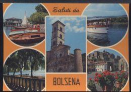WC551 SALUTI DA BOLSENA - Italia