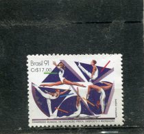 BRAZIL. 1991. SCOTT 2297. WORLD CONGRESS OF PHYSICAL EDUCATION - Unused Stamps