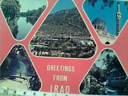 IRAQ  VUES  VB1978 2 BOLLI STAMP SELO TIMBRE EN9453 - Iraq