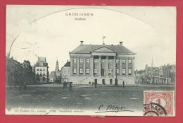Groningen - Stadhuis  - 190? ( Verso Zien ) - Groningen