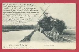 Groningen - Barkmolen-Reitdiep  - 1904 ( Verso Zien ) - Groningen