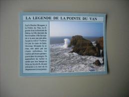 FINESTERELA LEGENDE DE LA POINTE DU VAN SUR LE ROCHER MORGANE............. - Cléden-Cap-Sizun