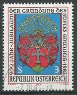 ÖSTERREICH 1983 MI-NR. 1737 O Used - ABO-Ware - (84) - 1945-.... 2a Repubblica