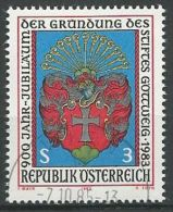 ÖSTERREICH 1983 MI-NR. 1737 O Used - ABO-Ware - (84) - 1981-90 Gebraucht