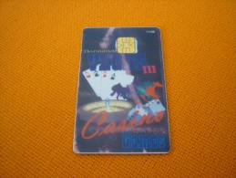 U.S.A. - Vegas Casino chip slot player's card