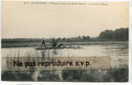 - 2239 - EN SOLOGNE -  Chasse à Courre De Rallye Beuvron, La Prise à L'étang, Non écrite, TBE, Scans. - Non Classés