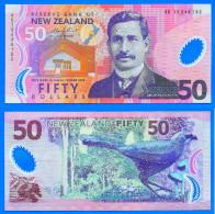 Nouvelle Zelande 50 Dollars 2012 UNC NEUF Polymere Oiseau Animal Bird New Zealand Polymer Skrill Paypal Bitcoin - Nuova Zelanda