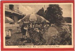 CPA: Belgique - Vallée De La Meuse - Beez - Le Solarium - La Terrasse Sur La Meuse - Belgien
