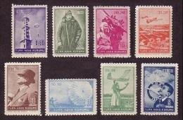 1950 TURKEY THE 25TH ANNIVERSARY OF THE TURKISH AIR ASSOCIATION MINT WITHOUT GUM - 1921-... République