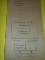 Album D´Images Sur Grande Carte Pliée En 6/ BiscottesPRIOR/L'Aventure Moderne/ Saint Marcel/Marseille/ 1960  ALB6 - Unclassified