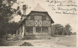 VARENGEVILLE SUR MER - Carte-photo D´une Villa En Fin De Construction -. - Varengeville Sur Mer