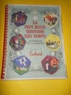 """Album D´Images /Chocolat Suchard/ """"La Plus Belle Histoire Des Temps""""/Au Berceau De La Création/1955 ALB9 - Non Classés"""