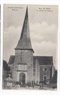 Saint Sulpice  -  Place De L'Eglise Et Entrée Du Château - France
