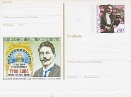 Germany 1996 100J. Berliner Operette Postcard Unused (F2443) - [7] West-Duitsland