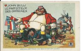 Guerre De 1914-1918 : John Bull Le Protecteur Des Opprimés - CPA Humoristique  Non Utilisée - Weltkrieg 1914-18