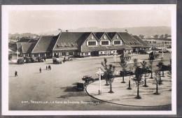 TROUVILLE . La Gare De Trouville -- Deauville . - Trouville