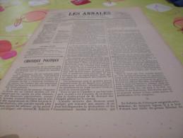 Les Annales 681 Du 12.07.1896-dessins Does - Magazines - Before 1900