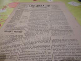 Les Annales 662 Du 1.03.1896--l'emprunt,ceux Qui Ne Font Jamais La Greve--dessins Godefroy Et Carrey - Books, Magazines, Comics