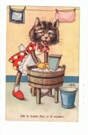 CHAT HUMORISE: Dès Le Boulot Fini,je Te Rejoins! - Cats