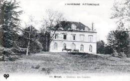 Les Châteaux En Auvergne - Orcet, Canton De Veyre-Monton - Le Château Des Combes - Très Beau Plan Animé - Veyre Monton