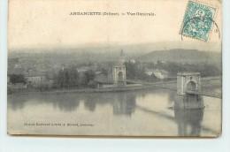 ANDANCETTE - Vue Générale, Pont. - Non Classificati