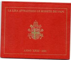 2001 VATICANO DIVISIONALE   VATIKAN - Vatikan