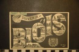 CP, 41, BLOIS Souvenir De Blois Edition BF - Blois