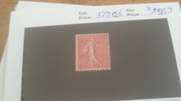 LOT 231134 TIMBRE DE FRANCE NEUF* N129b VALEUR 59 EUROS