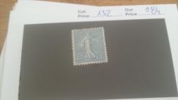 LOT 231135 TIMBRE DE FRANCE NEUF* N132 VALEUR 84 EUROS
