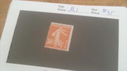 LOT 231136 TIMBRE DE FRANCE NEUF** N141 VALEUR 35 EUROS LUXE