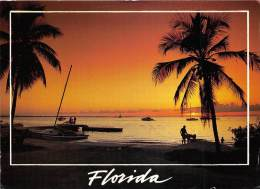 BF36371 Florida Tranquil Palms And Beautiful Beaches  USA  Front/back Scan - Palm Beach
