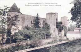 Les Châteaux En Auvergne - Environs De Lezoux - Le Château De Ravel - Très Beau Plan - Colorisée, Toilée - Lezoux