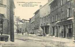 JuiAoû14 890: Le Chambon-sur-Lignon  -  Route De Saint-Agrève  -  Neige - Le Chambon-sur-Lignon