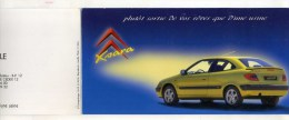 - PROSPECTUS DEPLIANT CITROËN DE 1997 POUR 1998 . . - Cars