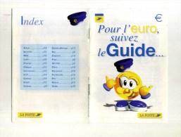 - FRANCE . 1 PROSPECTUS ET 1 FASCICULE SUR L´EURO . - French