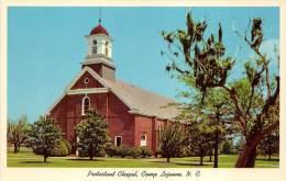BF35948 Protestant Chapel Camp Lejeune N C USA  Front/back Scan - Etats-Unis