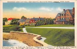 BF35974 Rhode Island Residences Along Cliff Walk Most Bea  USA   Front/back Scan - Etats-Unis