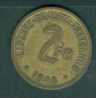 2 frs France Libre de 1944 pia6911
