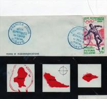 Pli En 1° Jour Du Pa 21 (Jeux Olympiques De TOKYO Le 10 / 10 / 1964 - Covers & Documents