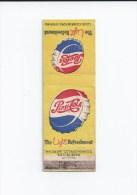 Boîte D'allumette Pepsi Cola - Coca-Cola