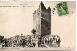 15. Neussargues. Ruines Du Chateau De Mars Dione - Autres Communes