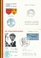 PROVEN - 1974 , 35. Deutscher Kinderdorf Ballonflug - Belgien