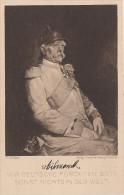 """AK Wir Deutschen Fürchten Gott Sonst Nichts In Der Welt Otto Von Bismarck Stempel """" Vaterland Dank Tag """" Augsburg - Personaggi"""