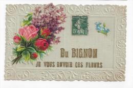 Le Bignon  -  Du.... Je Vous Envoie Ces Fleurs - Autres Communes